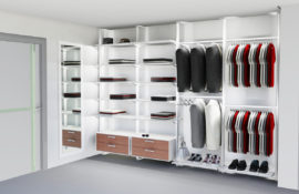 ARREDA - Regalsystem - Kleiderschrank